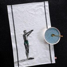 La cerise sur le gâteau Torchon Lucien Cornichon 50x80 cm-listing