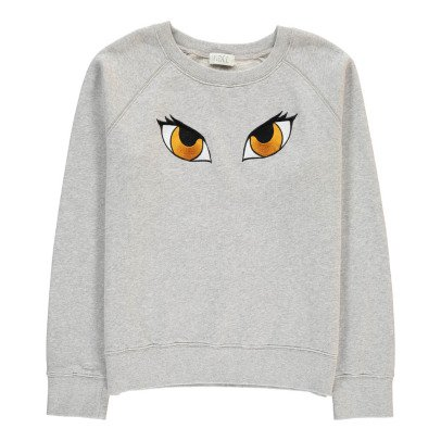 Indee Asia Embroidered Eyes Sweatshirt-product