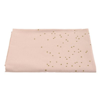 La cerise sur le gâteau Lina Gold Rain Print Cotton-Linen Mix Tablecloth-product