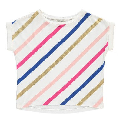 Indee Art Striped Oversized T-Shirt-product