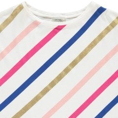 Indee Camiseta Oversize Rayas Art-listing