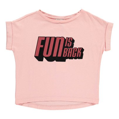 "Indee T-Shirt Oversize ""Fun is back"" Atollo-listing"
