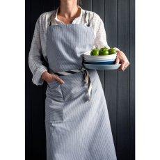 La cerise sur le gâteau Delantal de algodón rayas Finette-listing