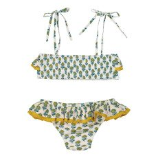 Lison Paris Poppy Patterned 2 Piece Bandeau Swimsuit-listing
