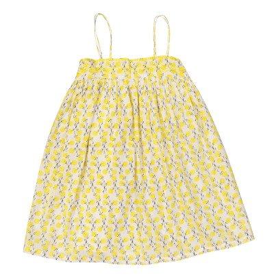 Lison Paris Vestido Tirantes Flores Mimosa-listing