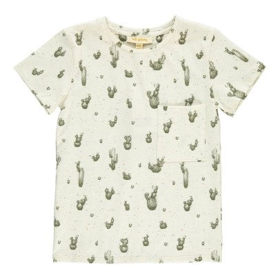 Soft Gallery Bass Cactus Flecked T-Shirt-listing