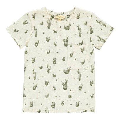 Soft Gallery T-Shirt Moucheté Cactus Bass-listing