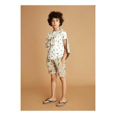 Soft Gallery T-Shirt Puntinata Cactus-listing