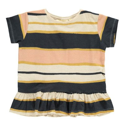Soft Gallery Acey Ruffle Striped T-Shirt-product