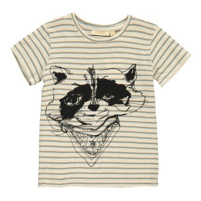 Soft Gallery Bass Raccoon Striped T-Shirt-listing