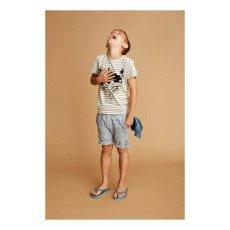 Soft Gallery Bass Raccoon Striped T-Shirt-listing