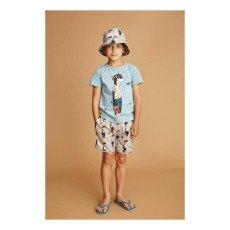 Soft Gallery T-Shirt Moucheté Dude Bass-listing