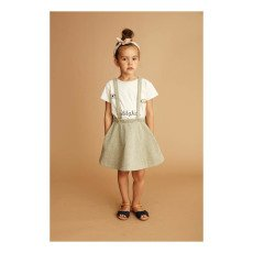 Soft Gallery Bess Lurex Skirt with Braces-listing
