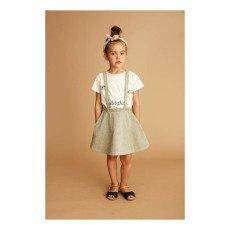 Soft Gallery Jupe Lurex Bretelles Bess-listing