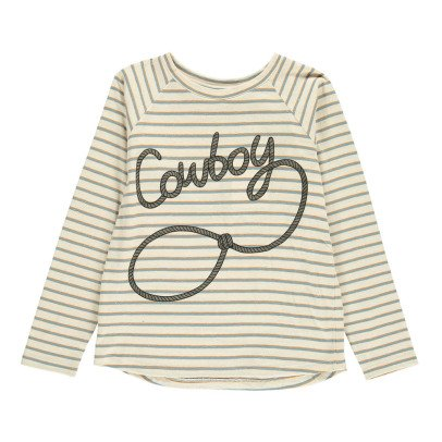 "Soft Gallery T-Shirt Righe ""Cowboy"" -listing"