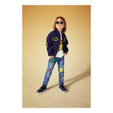 Stella McCartney Kids Lohan Music Note Boyfriend Jeans-listing