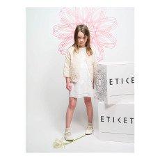 Etiket Chaqueta Acolchada Flores Viva-listing