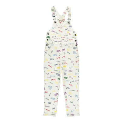 Stella McCartney Kids Ruthie Name Denim Dungarees-listing
