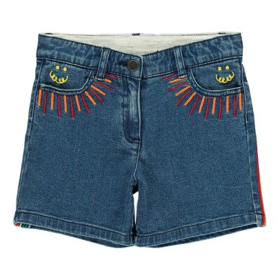 Stella McCartney Kids Eddie Embroidered Detail Shorts-listing