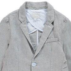 Etiket Jacke aus Baumwolle und Leinen Vegas -listing