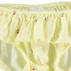 Buho Miu Cherries Ruffle Swimming Bottoms-product