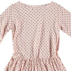 Buho Evelyne Star Linen & Cotton Dress-listing