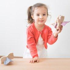 Paulette et Sacha Pegasus Mosaïc Wooden Figurine-listing