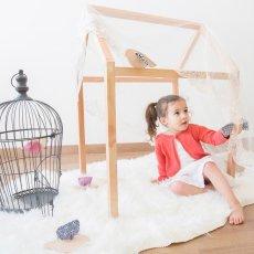 Paulette et Sacha Figurine en bois oiseau Mésange Mosaïque-listing