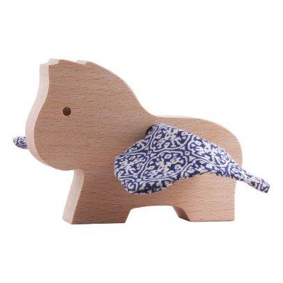 Paulette et Sacha Figurines de madera caballo Pégase Ornamentos-listing