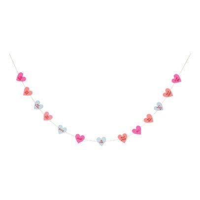Meri Meri Small Heart Garland-listing