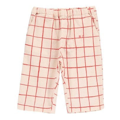 Bobo Choses B.C. Embroidered Check Trousers-product