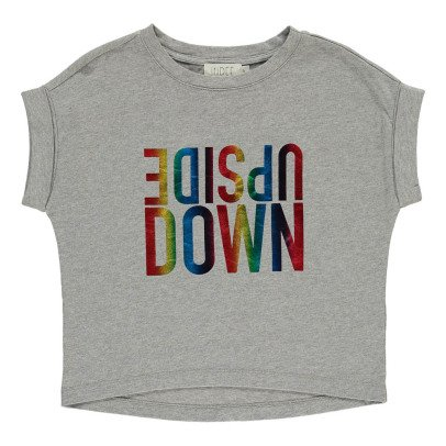 """Indee T-shirt Oversize """"Upside Down"""" Atollo-listing"""