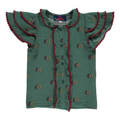 The Animals Observatory Parakeet Ruffled Blouse-product