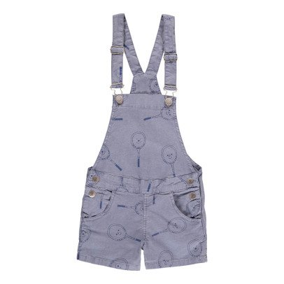 Bobo Choses Tennis Racket Dungaree Shorts-listing