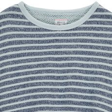 Morley Ferry Striped Short Sleeved Sweatshirt in Towelling-listing
