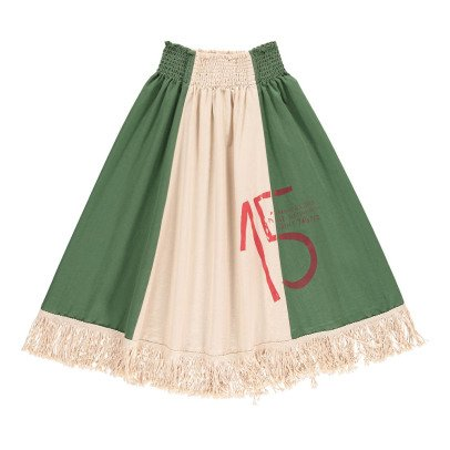 The Animals Observatory Pelican Fringe Maxi Skirt-product