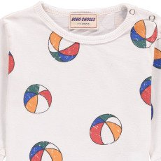 Bobo Choses Beachball Organic Cotton T-Shirt-listing