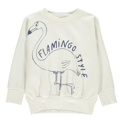 Bobo Choses Organic Cotton Flamingo Sweatshirt-listing