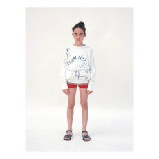 Bobo Choses Sweat Flamingo Style Coton Bio-listing