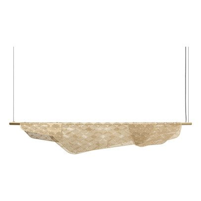 Petite friture Brushed Brass Mediterranea Ceiling Light 1.6m -listing
