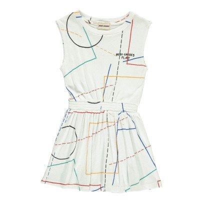 Bobo Choses Kleid Tennis Rib aus Bio-Baumwolle -listing