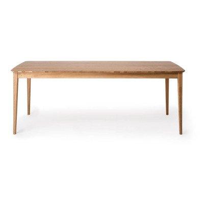 Petite friture Table rectangulaire en chêne Market 90x200 cm-listing