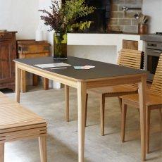 Petite friture Tisch aus Eiche Market 90x200 cm-listing