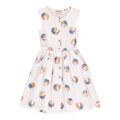 Bobo Choses Kleid mit Knöpfe Beach Ball -listing