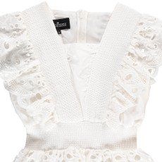 Little Remix Greta Silk and Cotton Top with Broderie Anglaise-listing