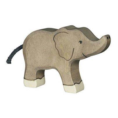 Holztiger Statuetta Legno Piccolo Elefante-listing