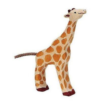 Holztiger Small Wooden Giraffe Figurine-listing