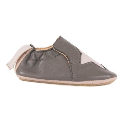 Easy Peasy Pantofole Pelle Stella-listing