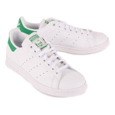 Adidas Stan Smith Lace-Up Leather Trainers-listing