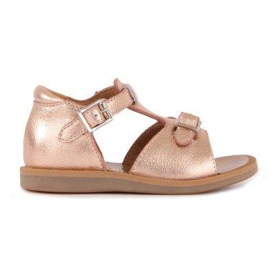 Pom d'Api Poppy Buckled Leather Sandals-listing